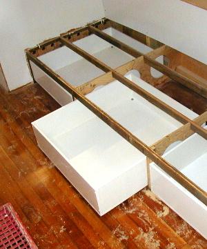 Drawer under berth